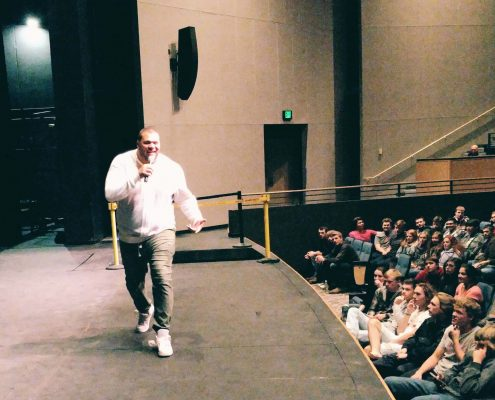 Bobby Jones Speaking at Alexandria Area High School